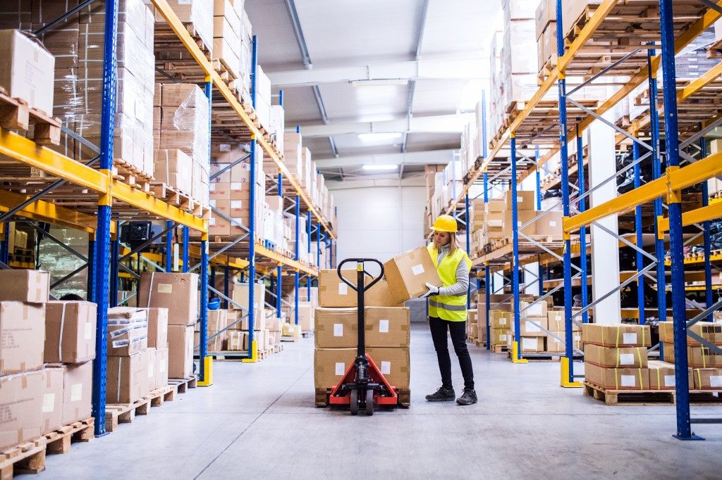 Warehouse Safety Features