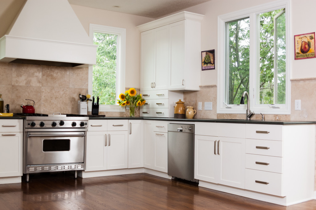 Traditional kitchen at home