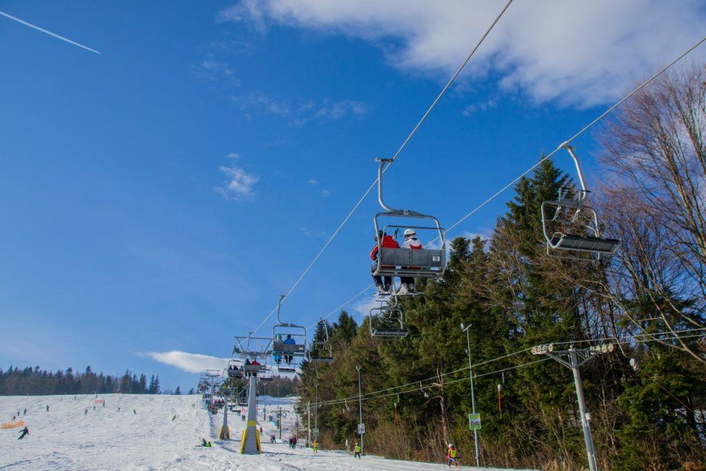 cable car ski resort