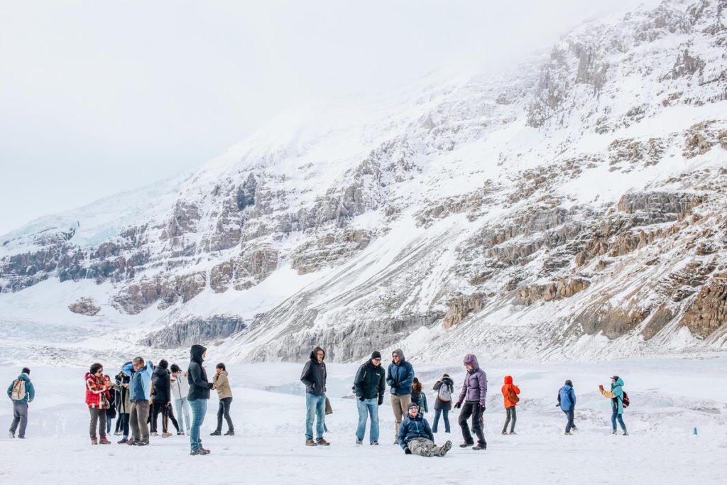 people ski resort
