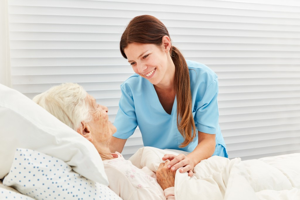 hospice care concept